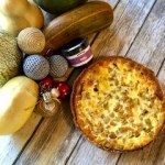 Quiche de calabaza, gorgonzola, y Carne de Mora Plain & Simple