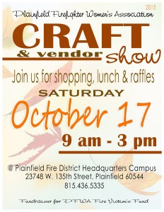PFWA 2015 Craft Show flyer