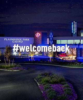 #welcomeback Plainridge Casino
