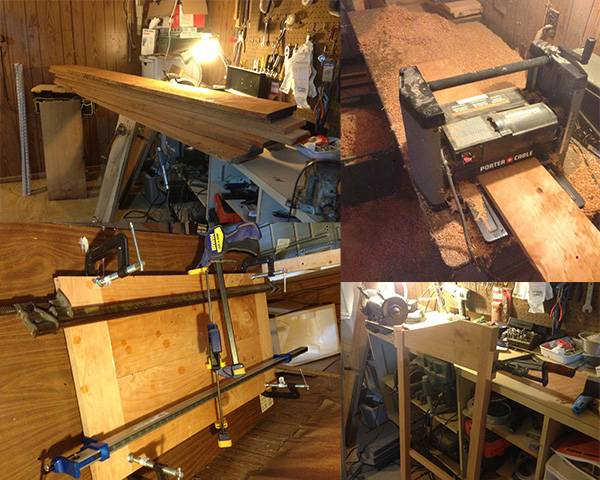 Standing Desk Construction 1