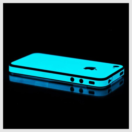 Wrap for your iphone that glows in the dark