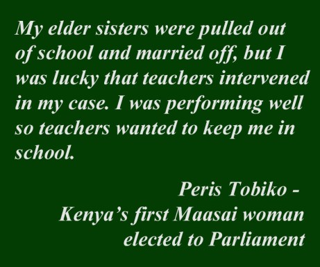 Quote from Peris Tobiko
