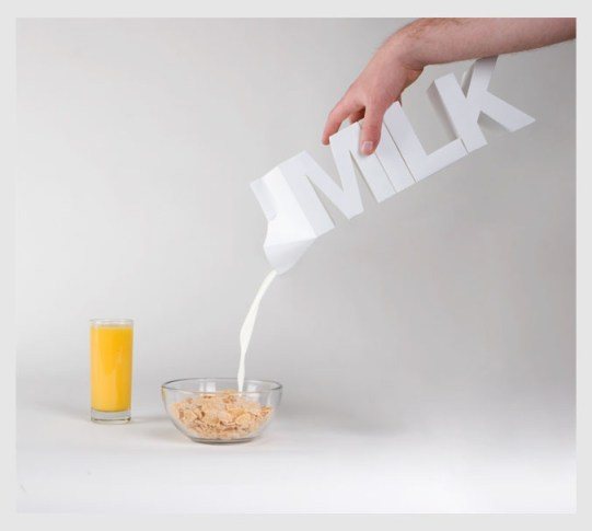 Innovative milk carton