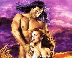 Fabio, old Mills and Boon image
