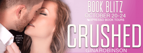 Book blitz banner for Crushed