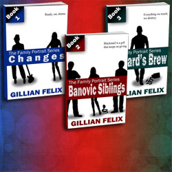 New cover for Family Portrait by Gillian Felix