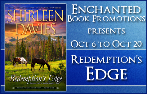 Book tour banner for Redemption's Edge