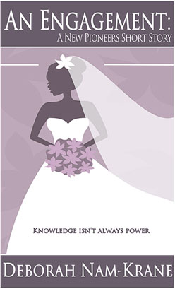 An engagement book cover