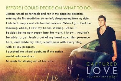 Book teaser for captured love