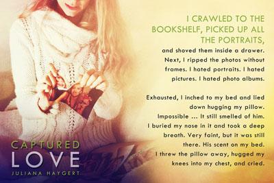 Captured Love Book teaser
