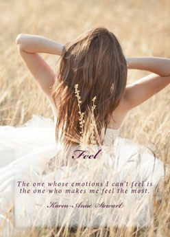 Book cover for Feel by Karen-Anne Stewart