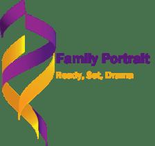 Logo for the Novel series Family Portrait by Gillian Felix