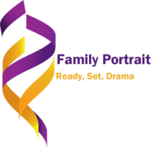 Logo for the Novel series Family Portrait by Gillian Felix