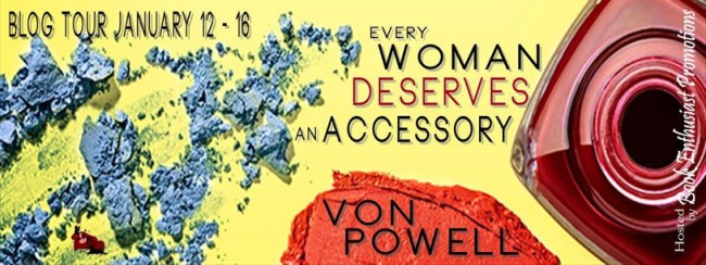 Every woman book tour banner