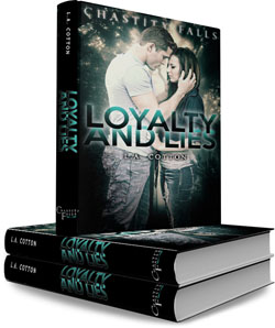 Loyalty and Lies book stack