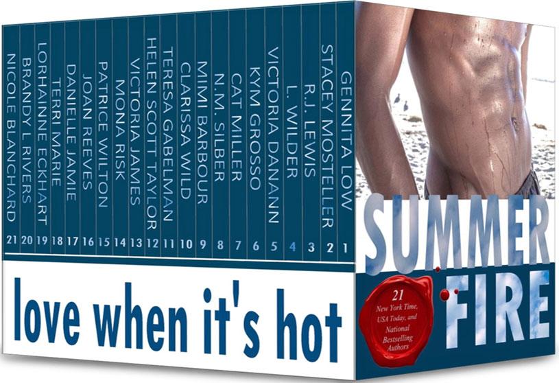 Summer fire romance boxset