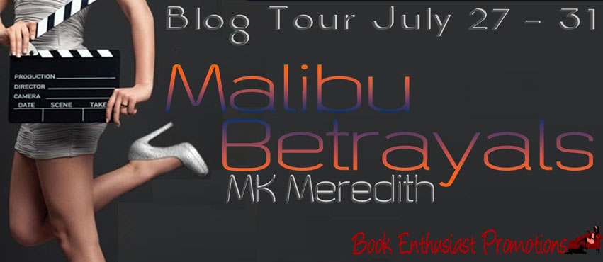 Malibu Betrayals book tour banner