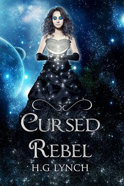 Cursed rebel book cover