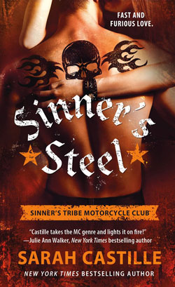 Book cover Sinners Steel