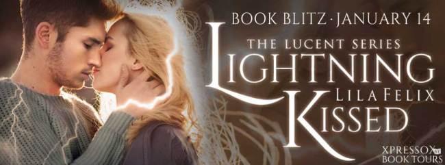 Lightening Kissed book tour banner