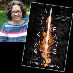 Jennifer Derrick book tour