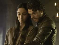 TV hook up Rob and Talisa Stark