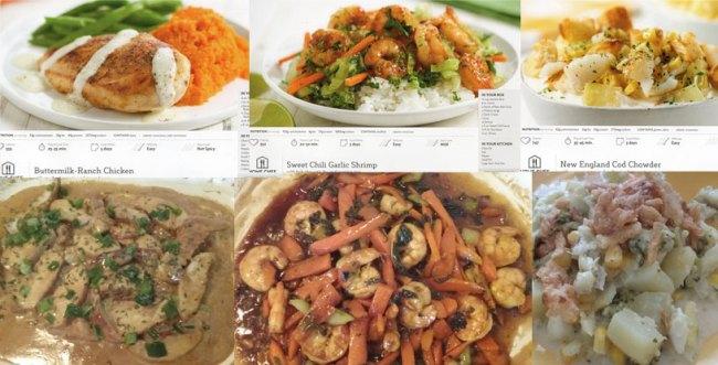 Home chef menu review