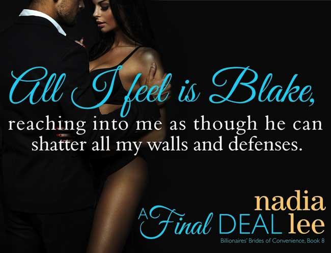 Nadia Lee Presents, A Final Deal - Plain Talk Book Marketing