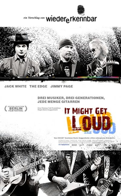 "Alternativplakat für ""It Might Get Loud"""
