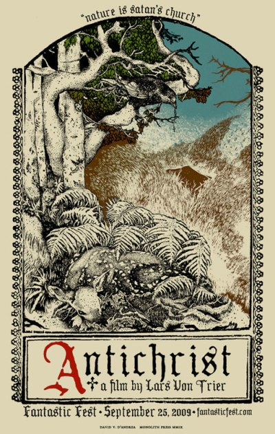 Antichrist - Poster vom Künstler David V. D'Andrea