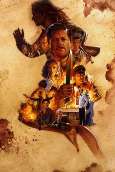 the lost Inglorious Basterds Poster
