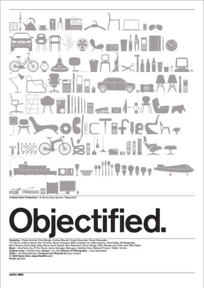 Objectified Movie Poster Letterpress Version