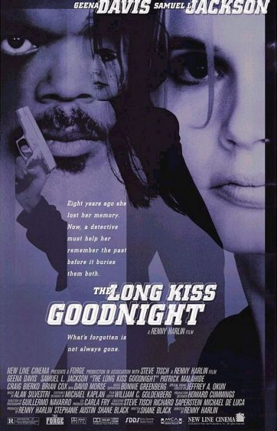 Movie Poster The Long Kiss Goodnight (Tödliche Weihnachten)