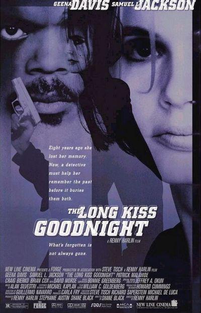 Movie Poster The Long Kiss Goodnight (Tödliche Weihnachten)