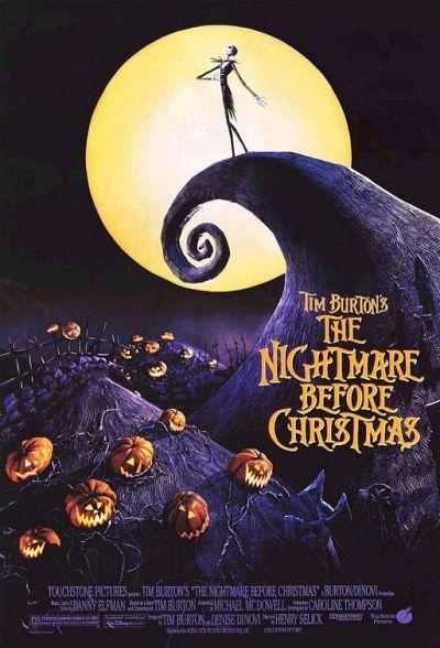 Movie Poster Nightmare Before Christmas