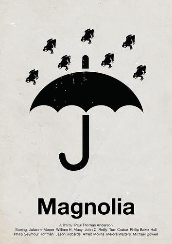 Magnolia - ein Piktogramm-Filmplakat von Victor Hertz
