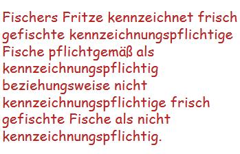 Wie viele Buchstaben f haben sich in diesem Text versteckt?