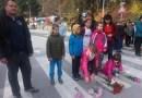 Цветя по пешеходни пътеки на Смолян за загиналите в катастрофи