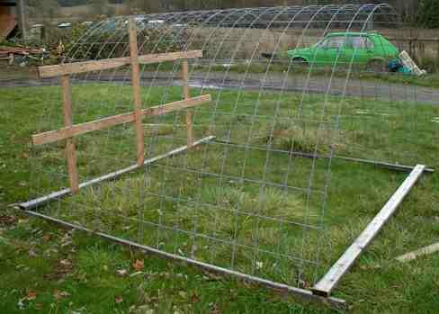 how to build hoop coop chicken coops