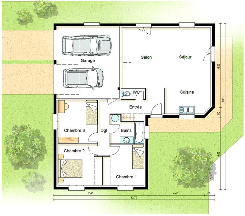 Maison bois design ultra-moderne 140 m² - Plans & maisons