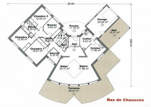 Plan Maison En V Pour Faire Construire Sa Maison Plans