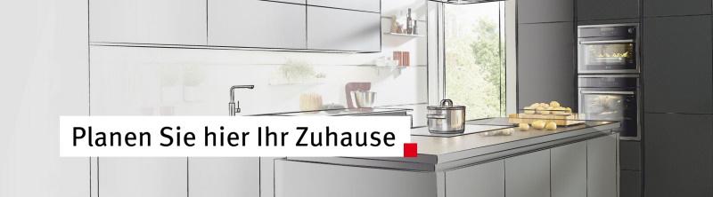 Planen Sie hier Ihr Zuhause. Mit unseren kostenlosen Planungstools für Küche und Hauswirtschaftsraum lassen wir schnell und einfach Träume rund um den Lebensraum Küche wahr werden.