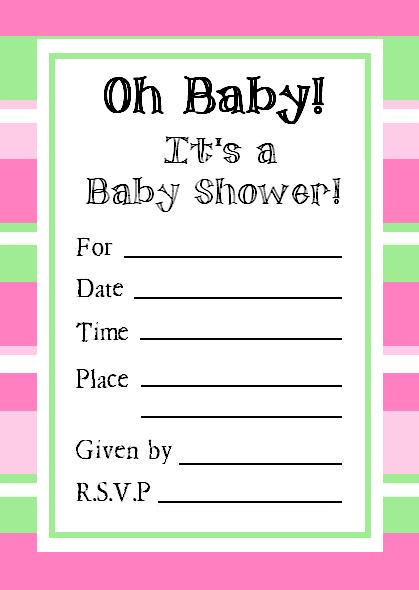 Free Printable Baby Shower Invitations That You Haven T Seen
