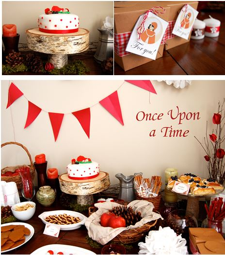 Little Red Riding Hood Baby Shower Ideas