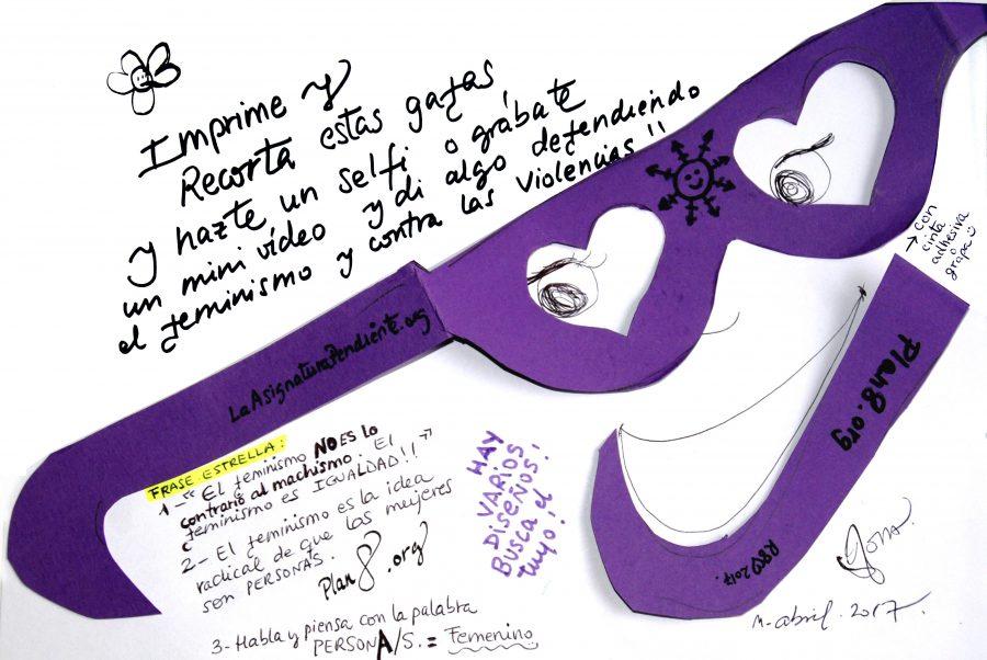 plantillas gafas violetas II