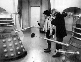 The first time the Doctor meets the Dalek