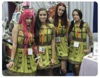 Comic Con Dalek Couture