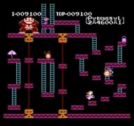 Screenshot of Paulette Switched Donkey Kong