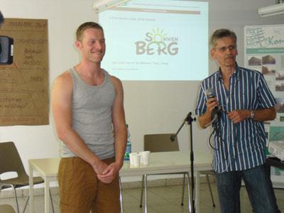 Präsentation der Gewinner: Logowettbewerb Sonnenberg 2012