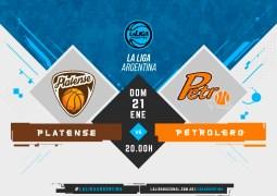 Platense – Petrolero por La Liga Argentina